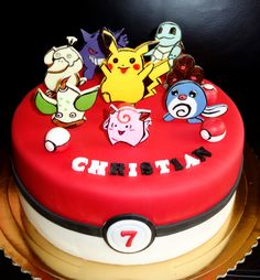 torta, cake Pokemon