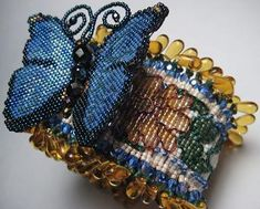 Beaded Wrist Corsages by Erin Simonetti