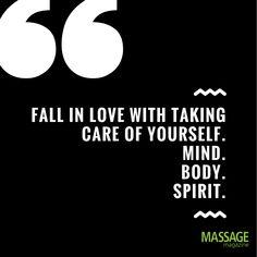 Massage Therapists need a little bit of self-care too! #Worklifebalance #Massagetherapy