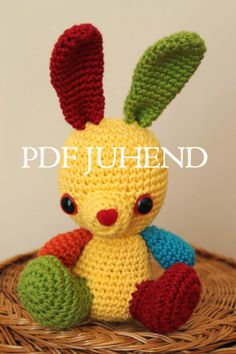 Little bunny pattern (now estonian, soon in english too)  Design: Triin Mihkelson  www.ilunikerdused.blogspot.com