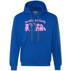 Doodles Are Family - Gildan Heavyweight Fleece Sweatshirt