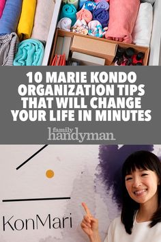 10 Organizing Tips from Marie Kondo That Will Change Your Life in Minutes – i Love Organizing – Grandcrafter – DIY Christmas Ideas ♥ Homes Decoration Ideas Household Organization, Home Organization Hacks, Organizing Your Home, Organizing Tips, Scarf Organization, Declutter Your Life, Marie Kondo, My New Room, Change