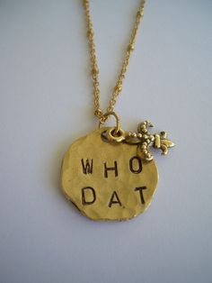 Who Dat..!! @Jenny Sims-Guill can you make this for me please.