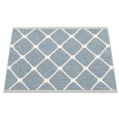 Tasteful and stylish, the classical Rex pattern mat will sit happily in a contemporary or traditional setting. The little 70 x 60 cm mat is ideal in the shower room, or as a welcoming doormat. Woven from soft plastic using traditional Swedish techniques, Pappelina rugs can be used in all areas of the home, and even outdoors. They are reversible, dust and dirt repellent, and fully washable, although a quick vacuum is probably all they will ever need. Available from Hus & Hem.