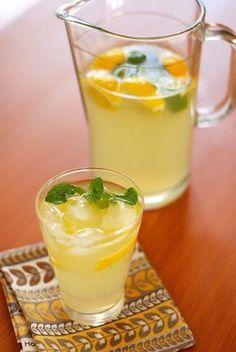 Citronáda recept