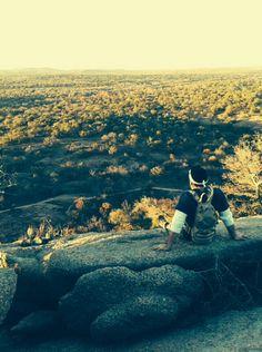 Enchanted Rock. Fredericksburg, Texas