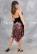 A-Line Skirt with Rounded Godet, by Dahlal USA, Tango Skirt