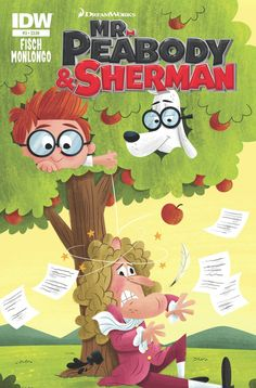 Mr. Peabody & Sherman #3 (of 4) Sholly Fisch (w) • Jorge Monlogo (a) • Matt Kaufenberg (c) Mister Peabody and Sherman are always happy to lend a paw in the name of science—whether it means splashing down in Archimedes' bathtub or dropping apples on Isaac Newton's head. But things really go off with a bang when the time-traveling duo head back to ancient China... and invent gunpowder! FC • 32 pages • $3.99
