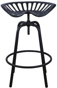 Borough Wharf Give your kitchen, bar or terrace a stylish touch with this Height Adjustable Bar Stool. The Height Adjustable Bar Stool seat is made from cast iron and steel and is therefore sturdy and extremely durable. Tractor Bar Stools, Tractor Seat Stool, 24 Bar Stools, Swivel Bar Stools, Swivel Chair, Counter Stools, Chair Cushions, Fallen Fruits, Esschert Design