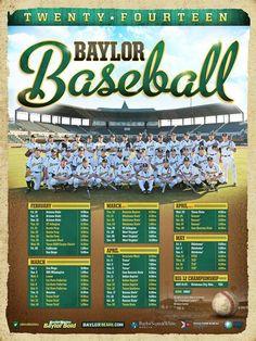 #Baylor Baseball 2014 // #SicEm