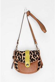 Sam Edelman Layne Crossbody Bag: LOVE wish the neon yellow stripe was a different color though