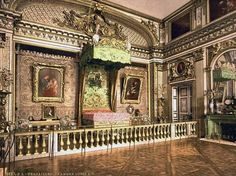 Louis XIV bedroom at Versailles                                                                                                                                                                                 More