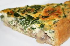 Recipe at www.spiceordie.com/2010/04/green-and-gold-quiche-quiche-f...     Making Me Hungry :-)