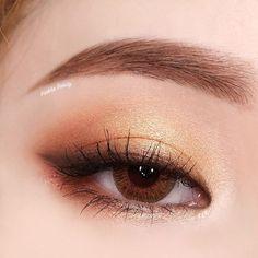 (notitle) - Make-up - Maquillaje Korean Makeup Look, Asian Eye Makeup, Makeup Eye Looks, Cute Makeup, Pretty Makeup, Makeup Art, Doll Eye Makeup, Korean Natural Makeup, Makeup Style