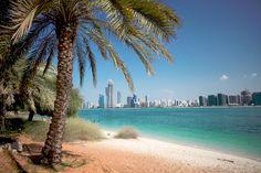 Beautiful View of Abu-Dhabi, UAE