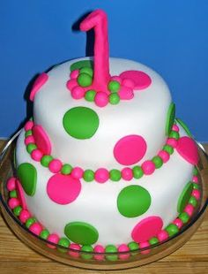 I'm going to try this Girl's birthday cake tomorrow!