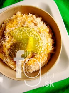 Kokosovo-limetkové overnight vločky Overnight Oats, Hummus, Smoothies, Lime, Coconut, Breakfast, Healthy, Ethnic Recipes, Fitness