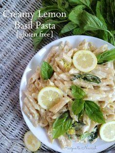 Creamy Lemon Basil P