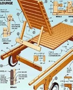 If you want to start a woodworking project, you need all the necessary information, including schematics, blueprints, materials lists, dimensions etc.