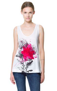 PRINTED T-SHIRT from Zara