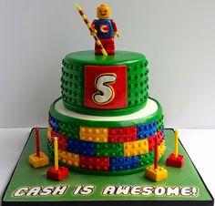 Cake Blog: Lego Cake Tutorial