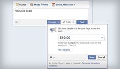 Facebook now lets you pay to 'promote' posts | ZAV Media