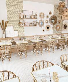 Bam Boa Amsterdam opent haar deuren aan de Weesperzijde Indian Interior Design, Cafe Interior Design, Room Interior, Ibiza Restaurant, Bakery Decor, Indian Interiors, Natural Interior, Beautiful Space, New Room