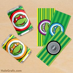diy candy bar wrappers free printables | ... candy wrappers FREE Printable Retro Ninja Turtles Mini Candy Bar