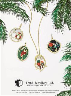 Trend Jewellery Ltd. #HKJE #Magazine #WinterSpring2016 #Advertisement #Jewellery #Diamond #FineJewellery