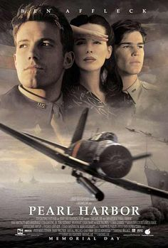 Affiche du film Pearl Harbor de Michael Bay