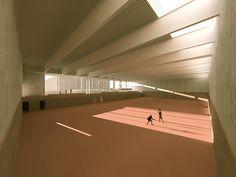 Sporthalle Möhlin by Götz Partner Architekten