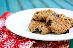 banana chocolate chunk almond butter cookies (vegan, gluten-free, no sugar added) - Wholefully