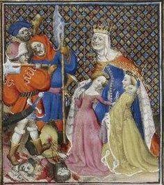 Giovanni Boccaccio, De Claris mulieribus; Paris Bibliothèque nationale de France MSS Français 598; French; 1403, 93v. http://www.europeanaregia.eu/en/manuscripts/paris-bibliotheque-nationale-france-mss-francais-598/en