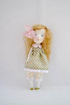 Mabel, Original girl art doll by Paola Zakimi. on Etsy.