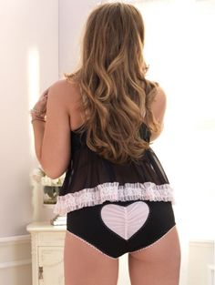 If you want it done right...: Plus Size Lingerie Boutique - Leg Avenue Mesh Babydoll Set - Review