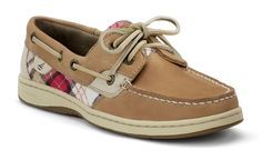 Plaid for Fall :) - Sperry Top-sider Women's Bluefish 2-Eye Boat Shoe #sperrytopsider