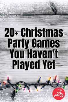 22 Holiday Party Games You Haven't Played Yet