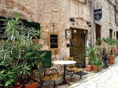 Sidewalk Cafe. Croatia.