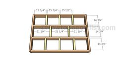 This step by step woodworking project is about floating queen size platform bed plans. If you want to enhance the look of your bedroom, you should consider building a floating bed. Platform Bed Plans, Queen Size Platform Bed, Platform Bed Frame, Floating Platform Bed, Floating Bed Frame, Diy King Bed Frame, Bed Frame Plans, Cama Industrial, Wooden Pallet Coffee Table