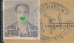 Cuba Carnet of Player of Jai Alai Pelotari Friend of Ernest Hemingway 1960 | eBay