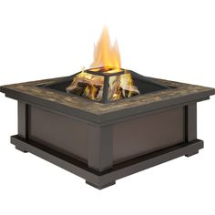 Gather friends and family around this firepit table for an evening of swapping stories and toasting marshmallows.Product: Firepit...