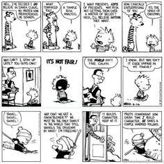 calvin and hobbes comic strips | Calvin and Hobbes: The best comic strip ever...