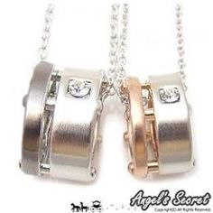 Set of 2 Pairs: Necklace One Size
