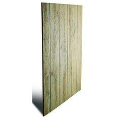 7/16 x 4 x 8 Engineered Untreated Knotty Barnside Siding Panel