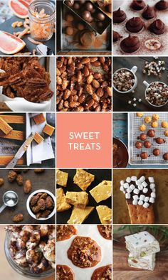 An amazing collection of recipes for sweet treats.