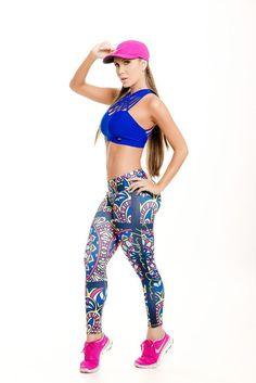 Check out these cool new leggings with a unique stained glass  print. Made from extremely supportive material that gives a firming effect and makes the booty pop! The Brazilian version of SPANX!  Approximate inseam for sizing is 24″  One size fits most in a S-M range