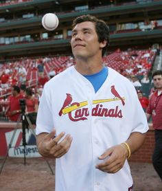 two of my favorite things: Sam Bradford and St. Louis Cardinals! <3