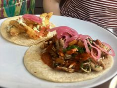 Taco Tour: Amaranto Serves up Beautifully Composed Tacos With Deep Flavors — Food and Drink on Bushwick Daily