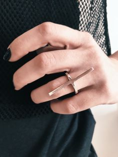 Sterling silver ring,bar ring,minimalistic ring,simple ring,design ring,thin ring,ring for women,ring for men,stacking ring,edgy rings by KathyRossJewelry on Etsy https://www.etsy.com/listing/585039726/sterling-silver-ringbar-ringminimalistic