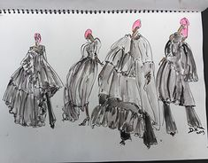 """""""Moulages for getting all dressed up, work in progress"""" Drawing Board, Working On Myself, New Work, Pattern Design, Dress Up, Behance, Profile, Gallery, Drawings"""